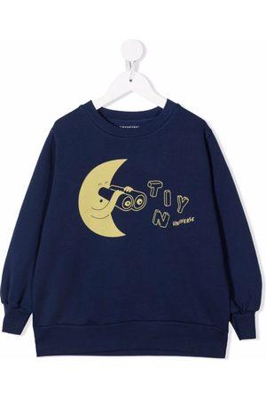 Tiny Cottons Meisjes Sweaters - Tiny Universe print sweatshirt