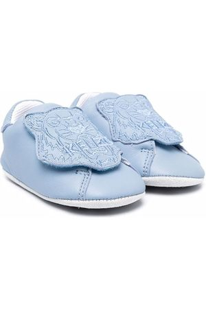 Kenzo Tiger-patch shoes