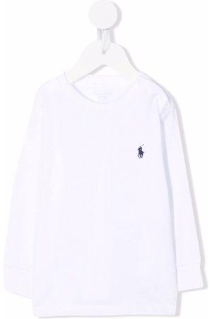 Ralph Lauren Poloshirts - Embroidered-pony T-shirt