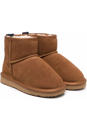 DOUUOD KIDS Chunky suede ankle boots