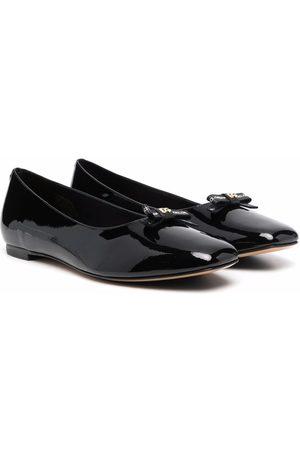 Dolce & Gabbana Bow-detail ballerina shoes
