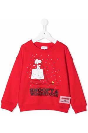 The Marc Jacobs Meisjes Sweaters - Peanuts-print cotton sweatshirt