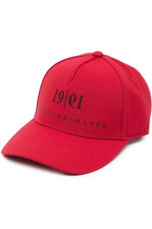 Armani Heren Petten - Logo-print cap