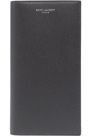 Saint Laurent Pebbled leather wallet