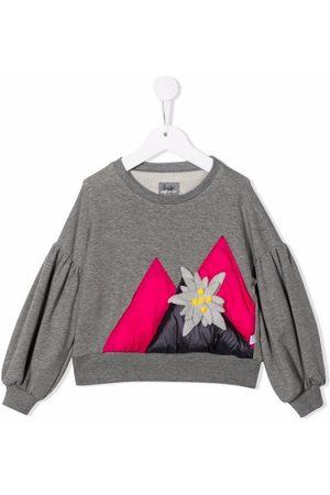 Il gufo Meisjes Sweaters - Faux-flower detail sweatshirt