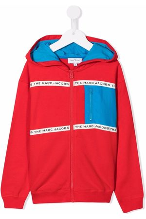 The Marc Jacobs Logo-trimmed hoodie