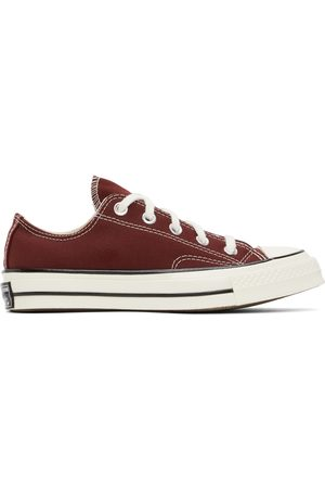 Converse Dames Sneakers - Burgundy Chuck 70 Low Sneakers