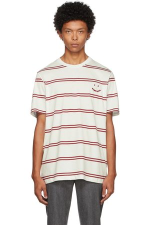 Paul Smith Off-White & Red Happy T-Shirt