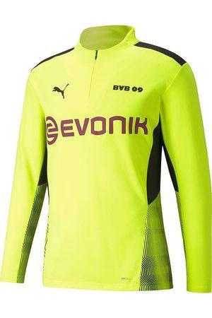 PUMA Heren Sport sweaters - Borussia dortmund training top 1/4 rits 2021-2022