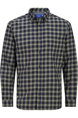JACK & JONES Heren Overhemden - Overhemd 'Globe