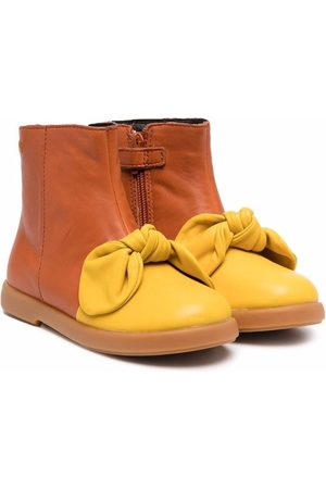 Camper Meisjes Enkellaarzen - Knot-detail boots