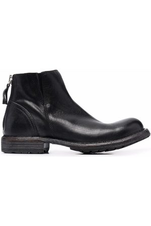 Moma Dames Enkellaarzen - Zip-fastening ankle boots