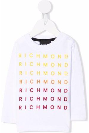 John Richmond Junior Sweaters - Logo-print sweatshirt