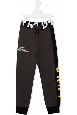 DKNY Meisjes Joggingbroeken - Logo-stripe track pants