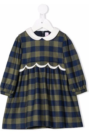 Il Gufo Gingham party dress