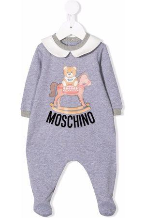 Moschino Pyjama's - Logo-print cotton pajamas