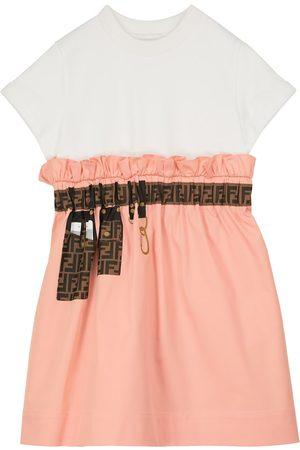 Fendi Meisjes Geprinte jurken - Printed cotton dress