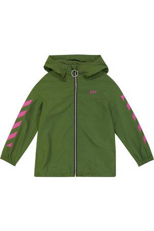 OFF-WHITE Logo windbreaker jacket