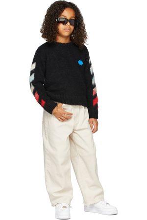OFF-WHITE Sweaters - Kids Alpaca Brushed Sweater