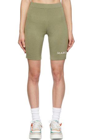Marc Jacobs Dames Korte sportbroeken - Tan 'The Sport Shorts' Shorts