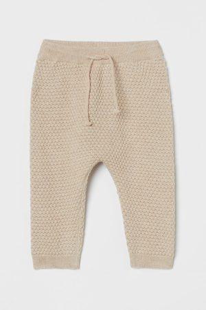 H&M Structuurgebreide broek