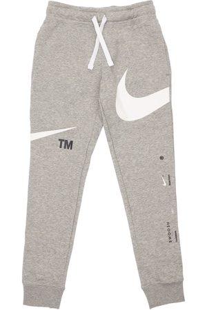 Nike Meisjes Joggingbroeken - Logo Print Cotton Sweatpants