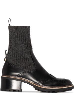 Chloé Franne sock-detail ankle boot