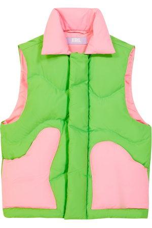 ERL Kids Sleeveless colorblocked down coat