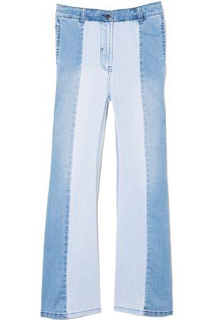 Stella McCartney Meisjes Jeans - Two-tone panelled jeans