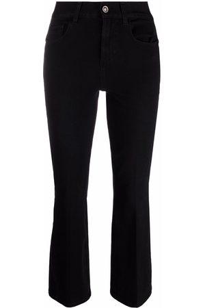 Liu Jo High-rise cropped flared trousers