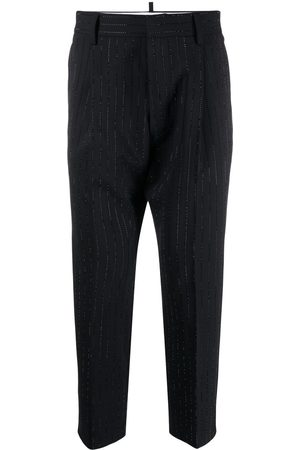 Dsquared2 Crystal-embellished tailored trousers
