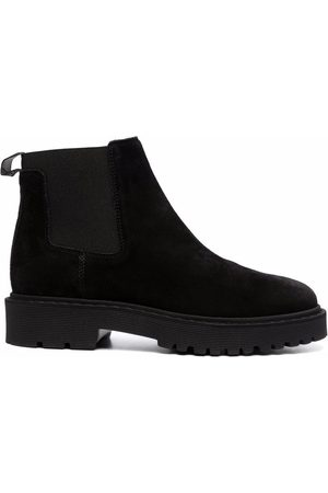 Hogan Chelsea panelled ankle boots
