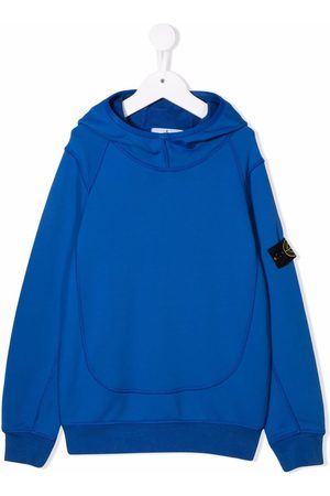 Stone Island Logo long-sleeve hoodie