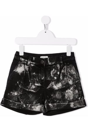 P.a.r.o.s.h. Tie-dye fitted shorts