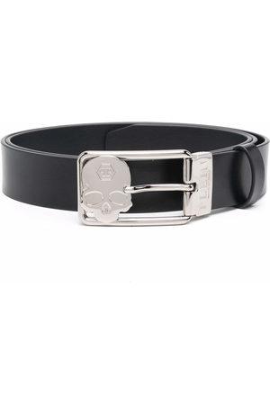 Philipp Plein Heren Riemen - Buckle-fastening leather belt