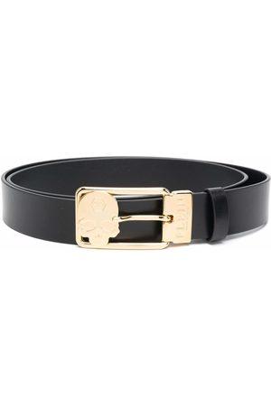 Philipp Plein Buckle-fastening leather belt