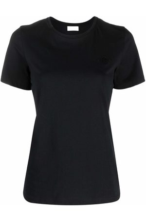 By Malene Birger Embroidered-logo organic-cotton T-Shirt