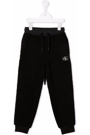 Calvin Klein Logo patch track pants