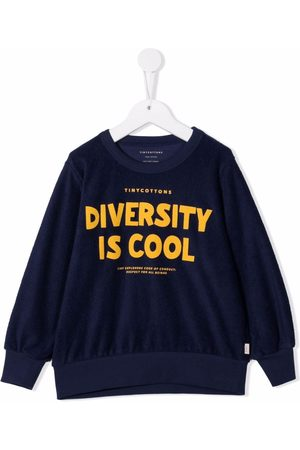 Tiny Cottons Diversity Is Cool print jumper