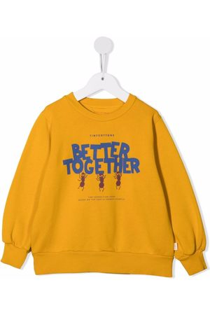 Tiny Cottons Better Together print sweater