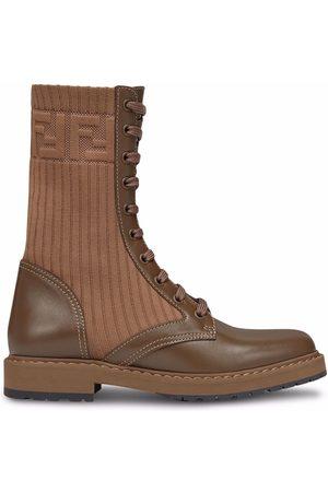 Fendi Rockoko biker boots