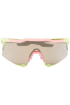 100% Eyewear 100% SPEEDCRAFT WASH NEON FLASH MIRROR S