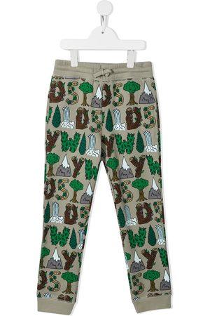 Stella McCartney Jongens Joggingbroeken - Logo-print track pants