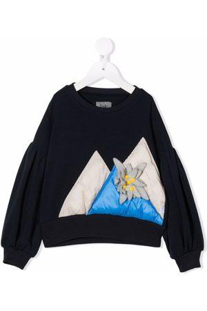 Il gufo Appliqué-detail cotton sweatshirt