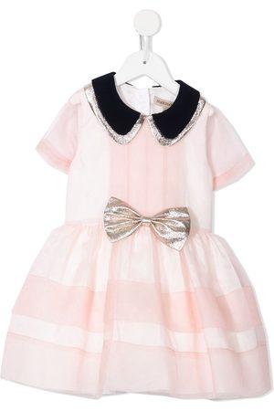 HUCKLEBONES LONDON Loose-fit bodice dress