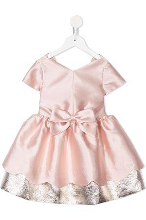 HUCKLEBONES LONDON Meisjes Feestjurken - Scalloped bodice dress