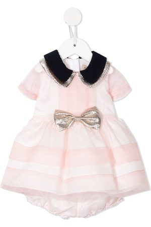 HUCKLEBONES LONDON Striped bodice dress and bloomers
