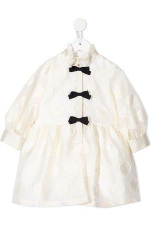 HUCKLEBONES LONDON Meisjes Feestjurken - Shirt spotted dress