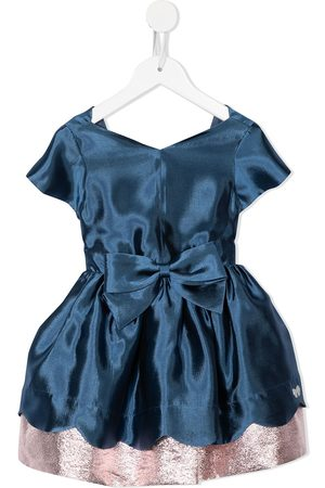 HUCKLEBONES LONDON Scalloped bodice dress