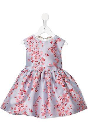 HUCKLEBONES LONDON Meisjes Feestjurken - Bow-back bodice dress